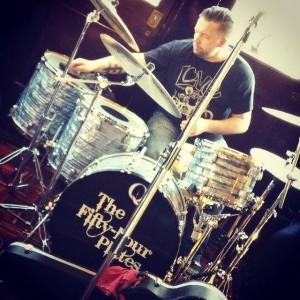 Drum Teacher Jamie Leigh.