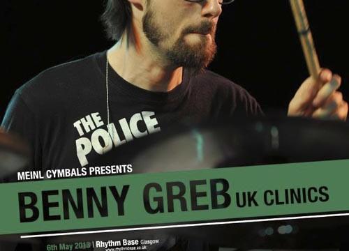 Benny Greb Drum Clinic Tour