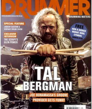 Drummer Magazine June 2013
