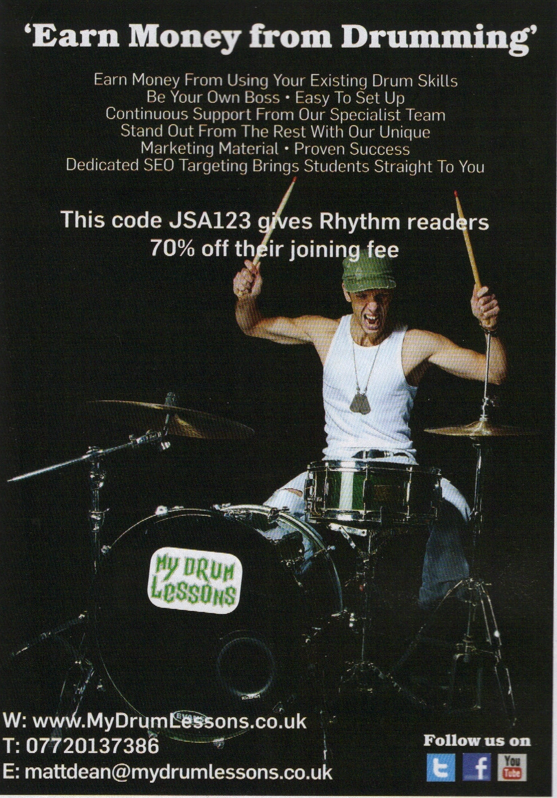 Rhythm  Advert June 2013