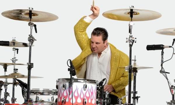 Drummer at the wrong gig