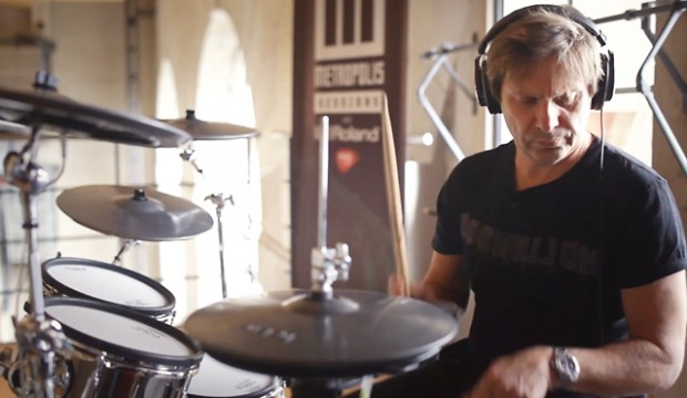 Roger Taylor electronic drums