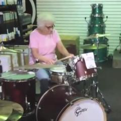 Drum Solo Granny