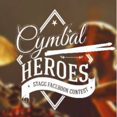 Stagg Cymbal HEroes