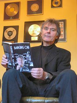 Bob Henrit 'Banging On' book released