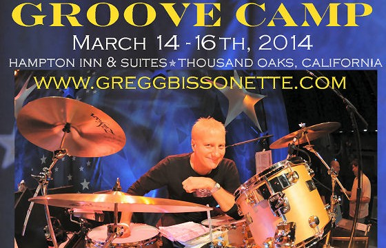 Gregg Bisonette Groove Camp
