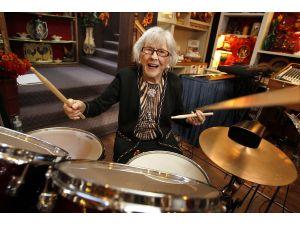 Best Female Drummer celebrates her 102 Birthday