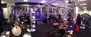 Drummers Gather for London Show 2014