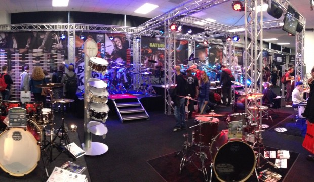 London Drum Show Exhibition.