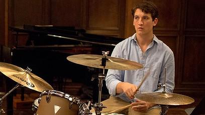 Miles Teller in drumming film