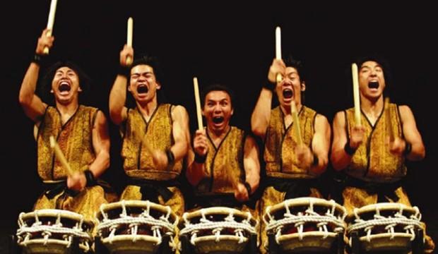 Learn Taiko Drumming