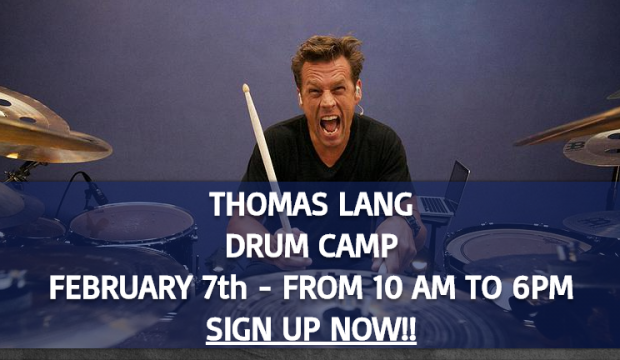 Thomas Lang Drum Camp With My Drum Lessons