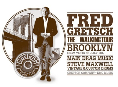 Fred Gretsch Meet & Greet Drum Tour