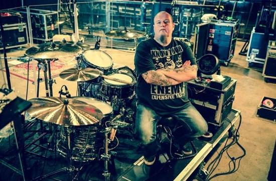 Him Drummer Mika 'Gas Lipstick' Karppinen