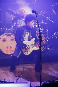 Prince with Hannah on drums