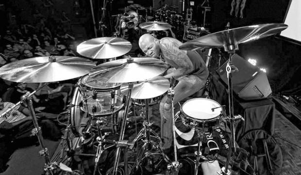 Royalprince Franklin Vanderbilt drumming