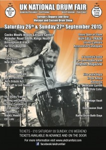 UK National Drum Fair 2015