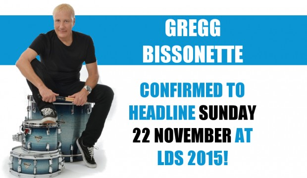 Gregg Bissonette at this year's London Drum Show!