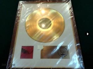 Neil Smith Gold Disc
