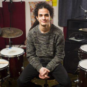 Jamming at Dusk Drumming Studios!