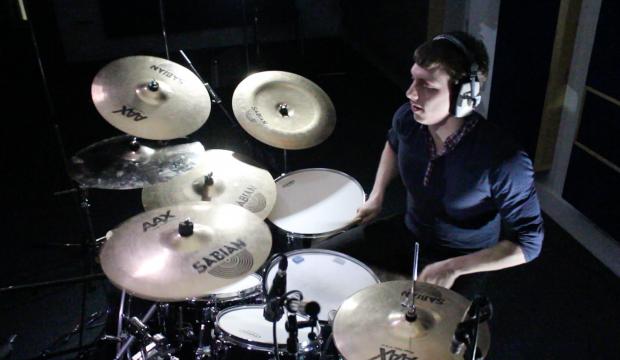 Darren Angus Plays Drums